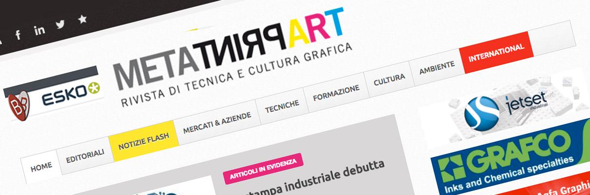 Una tipografia che produce stampati di qualità per la moda e la ceramica